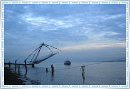 Fishing Nets Cochin, Kerala