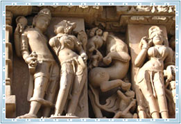 Sculptures of Khajuraho